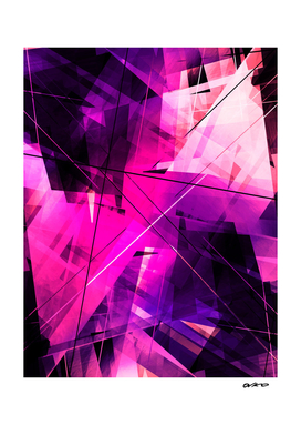Rebellious Reflections - Geometric Abstract Art