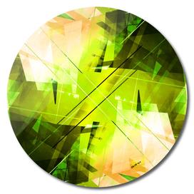 Toxic - Geometric Abstract Art