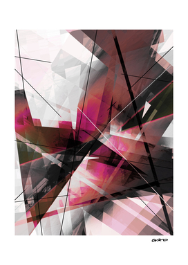Echos of Expansion - Geometric Abstract Art