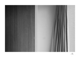 Closet and curtain, 2017