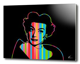Joan Crawford | Dark | Pop Art