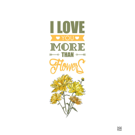 Love you more than...