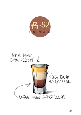 B-52 cocktail recipe