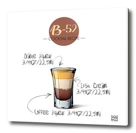 B-52 cocktail recipe