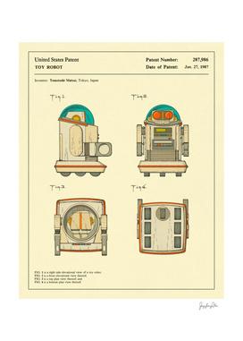 Robot Patent - 1987