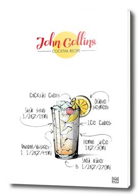 John Collins cocktail recipe