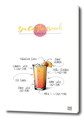 Sex On The Beach cocktail recipe