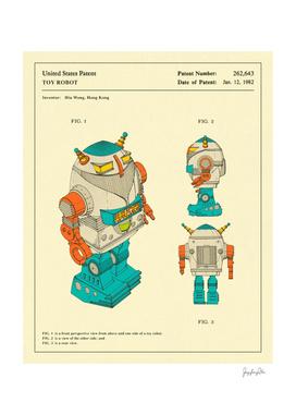 Robot Patent (1982)