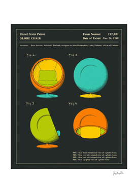 Globe Chair Patent - 1968