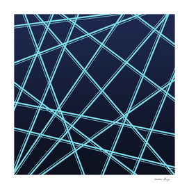 blue lines pattern