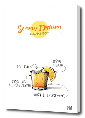 Screw Driver cocktail recipe