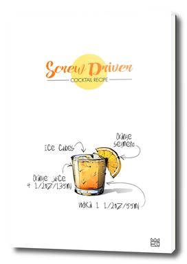 Screw Driver cocktail recipe