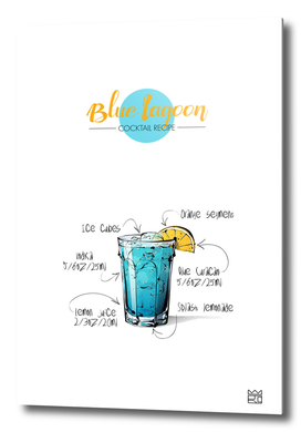 Blue Lagoon cocktail recipe