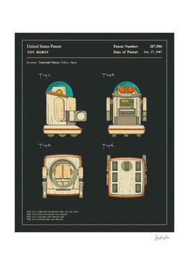 Toy Robot Patent - 1987