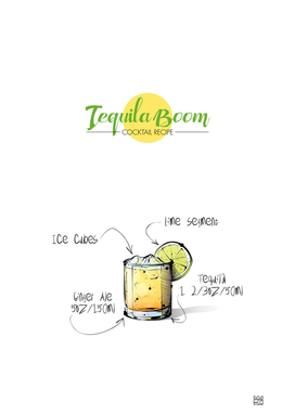 Tequila Boom cocktail recipe