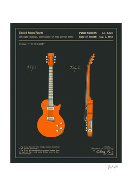 Guitar Patent 1955 (black)