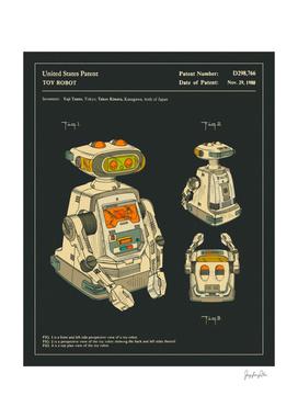 Robot Patent (1988) (Black)