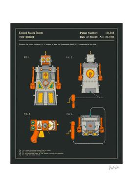 Robot Patent (1955) (Black)