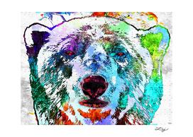 Polar Bear Grunge