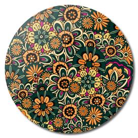 Floral pattern, Boho Style No1