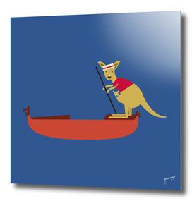 Kangaroo on Gondola
