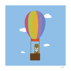 Llama in Balloon