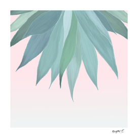 Delicate Agave Fringe Illustration