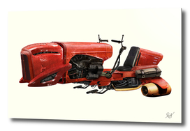 Custom Star Wars Style Speeder