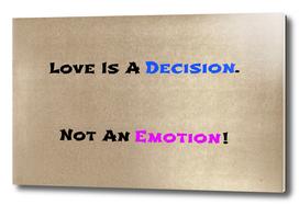 Decision/Emotion