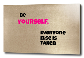 Be Yourself #1
