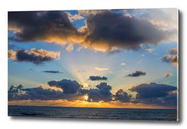 Sunbeam Sunset