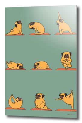 Pug Yoga