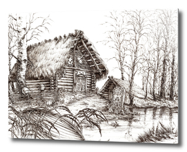 SLAVIC HUT ink
