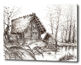 SLAVIC HUT ink