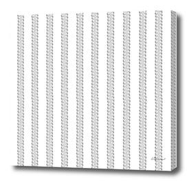 Strawberry Stripes Pattern - StripeV/Outline