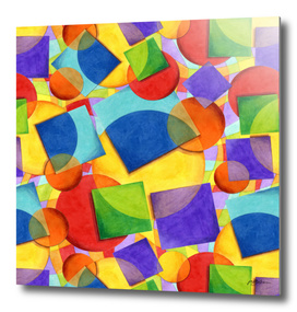 Rainbow Candy Geometric