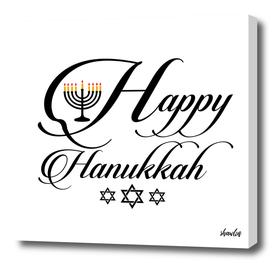 Happy Hanukkah- Jewish holiday celebration