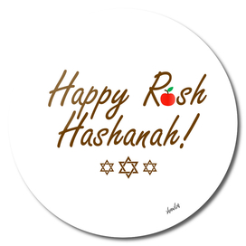 Happy Rosh Hashanah or Jewish Near year greetings