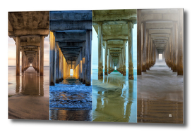 4 Faces Of Scripps Pier