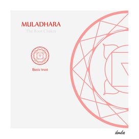 Muladhara- The root chakra which stands for basic trust
