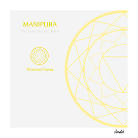Manipura- The solar plexus chakra for wisdom or power