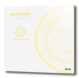 Manipura- The solar plexus chakra for wisdom or power