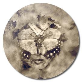Butterfly lady