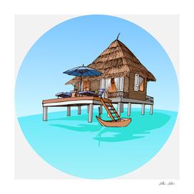 Maldives Hut