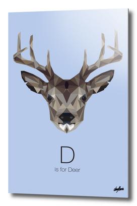 D is for Deer