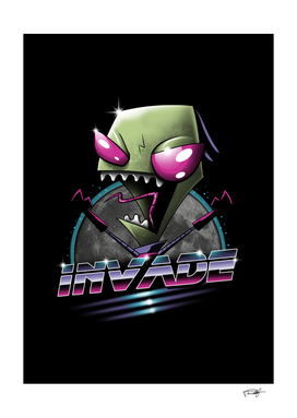 Invade - Color Sep
