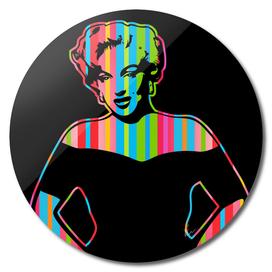 Marilyn Monroe | Dark | Pop Art