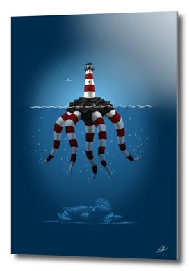 lighthouse monster