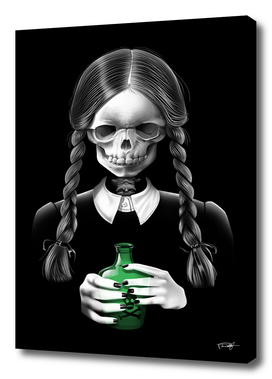 Death Bores Me skull