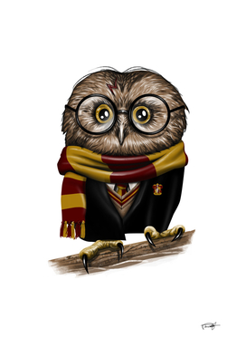 Owly Potter by Vincent Trinidad